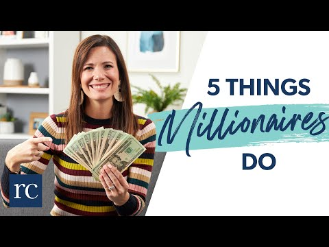 5 Simple Things Millionaires Do For Their Money