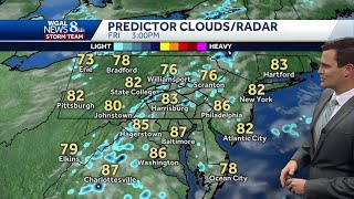 Central Pennsylvania weather: Chance of storms Friday; weekend heats up