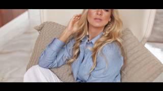 Camisa Feminina Listrada Verde Principessa Shirley 06ef905619
