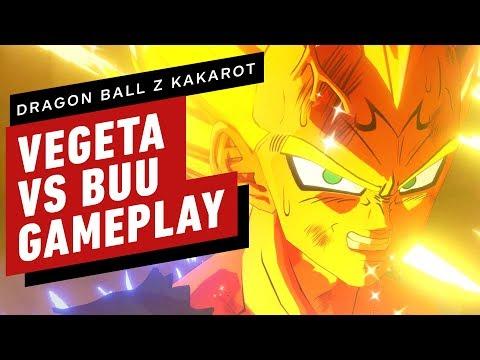 Dragon Ball Z: Kakarot - Majin Vegeta vs Buu Gameplay - UCKy1dAqELo0zrOtPkf0eTMw