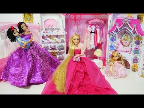 Rapunzel Snow White Princess Bedroom Morning Routine New Jewelry Accessory - UCTL6kjJ7tFa5QLfhkPtOg3Q