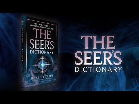 The Seer's Dictionary  Seer Language Every Seer Needs to Know