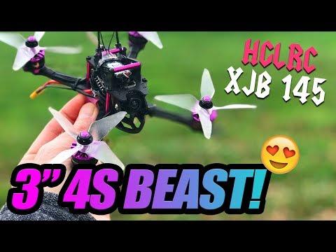 "HGLRC XJB 145 is a 3"" 4S BEAST! - 100% Honest Review & Flights - UCwojJxGQ0SNeVV09mKlnonA"