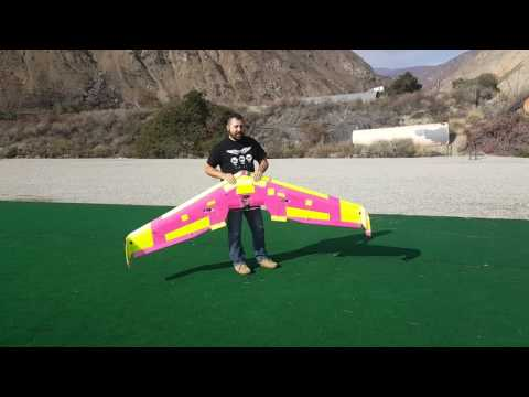 """The Hundo"" A 100 Inch Flying Remote Control Wing - UCecE6SjYRmZHqScnmFcl5MA"
