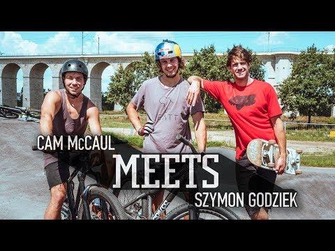 MTB Legend Cam McCaul meets up with Szymon Godziek.   McCaul Meets - UCXqlds5f7B2OOs9vQuevl4A