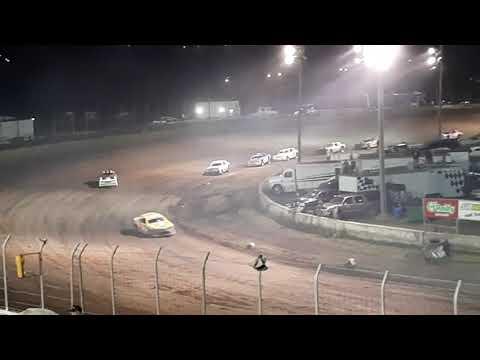 Denison IMCA Stock Car A Main 8/13/21 - dirt track racing video image