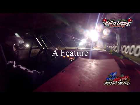 #14 Skyler Storment - 4 Cylinder - 7-2-2021 Dallas County Speedway - In Car Camera - dirt track racing video image