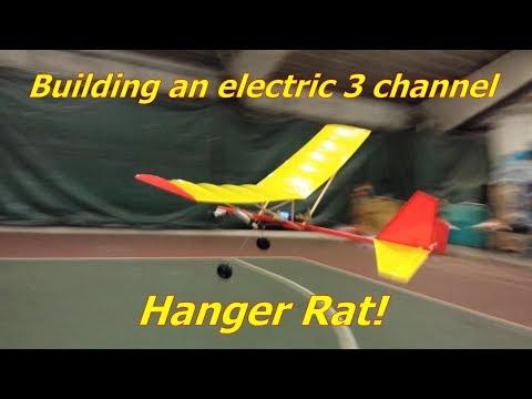 Hanger Rat: simple electric balsa airplane build and maiden flight - UCdmfu00v-_6KobVk0hMJvmQ
