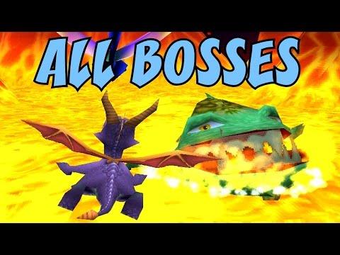 Spyro 1, 2 and 3 - ALL Bosses (No Damage) - UC-2wnBgTMRwgwkAkHq4V2rg