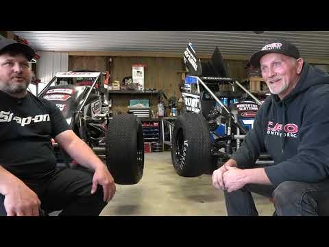Wingo Brothers: NHRA Mechanics Gone USAC Racing - dirt track racing video image