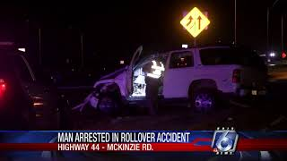 Man jailed after State Highway 44 rollover accident