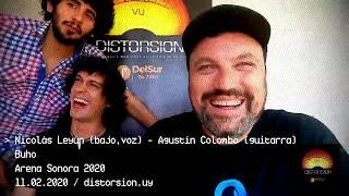 Entrevista a Buho en semifinales de Arena Sonora 2020 (11.02.2020)