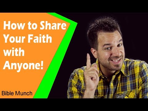 How to Share your Faith with Anyone  How to Share the Gospel
