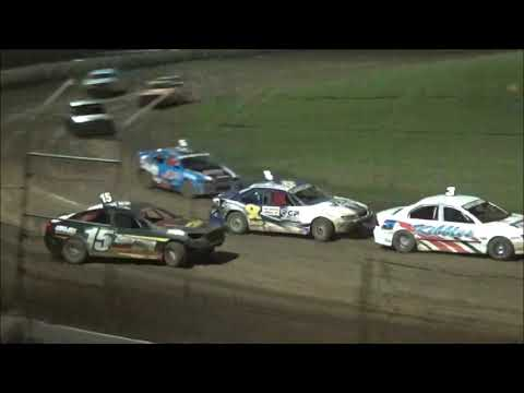Modified Sedans Golden Jubilee 50 Lap Feature Race at Castrol Edge Lismore Speedway. 16.02.19 - dirt track racing video image