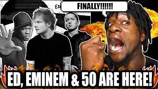 Ed Sheeran ft. Eminem & 50 Cent - Remember The Name (REACTION!)
