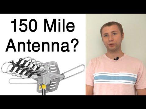 Do Not Buy an HD TV Antenna Based on Mile Range - False Claims