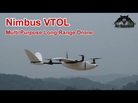 Nimbus VTOL Ultimate Long Range Surveillance VTOL Drone - UCsFctXdFnbeoKpLefdEloEQ