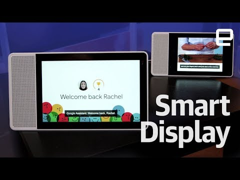 Lenovo Smart Display hands-on at CES 2018 - UC-6OW5aJYBFM33zXQlBKPNA