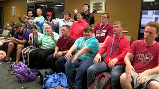 WEB EXTRA: LifeStyles students call the Hogs KFTA