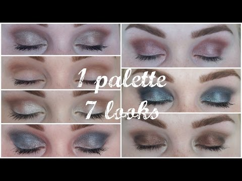 1 Palette ✯ 7 Looks (Sleek Palette: Storm) - UCHYihq5LYGsVMYAA1wSQuZw