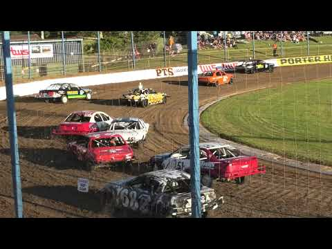 Auckland Streetstock Champs Race 1 Jan 2021 - dirt track racing video image