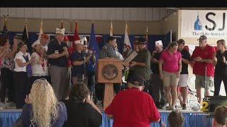Pritzker Honors Veterans At State Fair