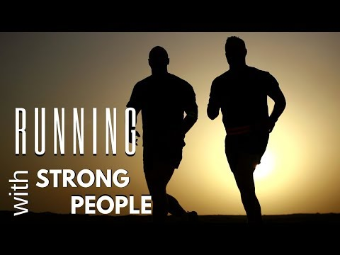 Running With Strong People   Joe Joe Dawson