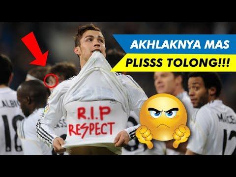 Aksi selebrasi kontroversial ketika melawan mantan klub !!