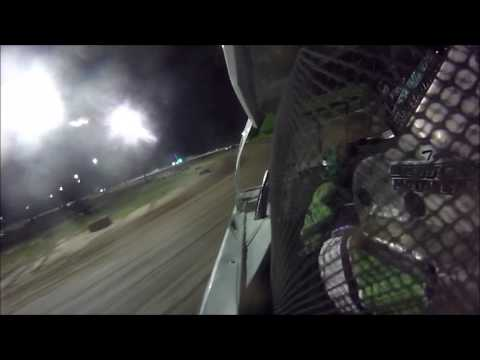 Tyler Sistrunk Motorsports - North Florida Speedway - In Car Camera - 6-24-2017 - dirt track racing video image