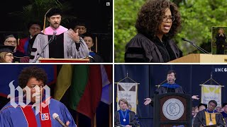 Here's what commencement speakers across the nation have to say to the class of 2019