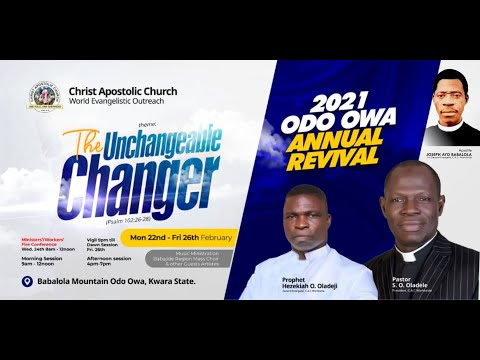 2021 ODO-OWA ANNUAL REVIVAL