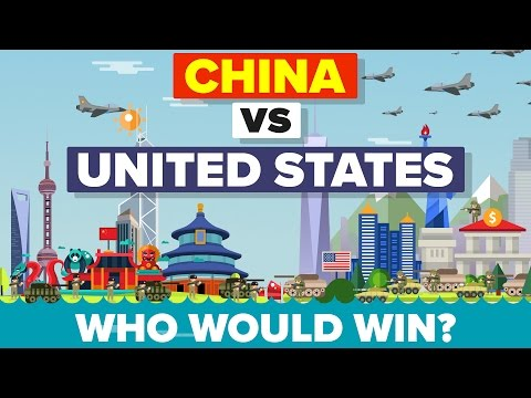 China vs United States (USA) 2016 - Who Would Win - Military Comparison 💣 - UCfdNM3NAhaBOXCafH7krzrA