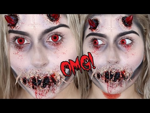 Possessed Demon or Devil SFX! ♡ Halloween Makeup Tutorial - UCMpOz2KEfkSdd5JeIJh_fxw