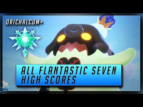 Kingdom Hearts 3 Flantastic Seven Locations & HIGH SCORES - Orichalcum+ Reward (Flanmeister Trophy) - UCX2tHrgdOPDtQRidMS946Fw