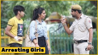 Police Arresting Girls for Selling Heroine Prank - Ft. Kalol Pranks | The HunGama Films