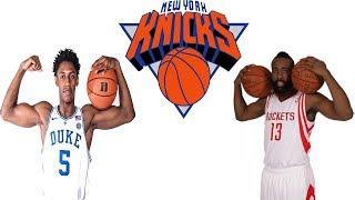 NEW YORK KNICKS  CAN RJ BARRETT BE THE NEXT JAMES HARDEN?!