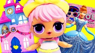 LOL Surprise Dolls Disney World, Ice Cream Shop and a New Sibling with Playmobil Sets & Unboxings