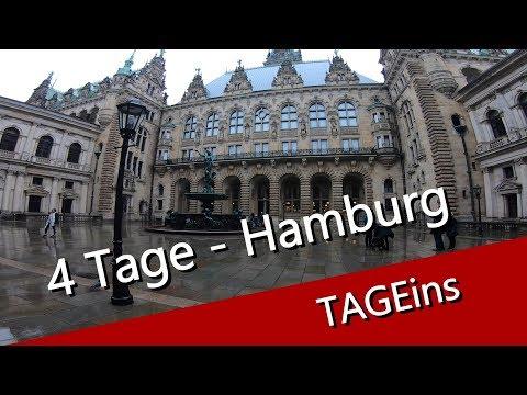 Hamburg in 4 Tagen - TAGeins - Jungfernstieg mit der Rathaus zu Hamburg - UCNWVhopT5VjgRdDspxW2IYQ