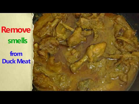 How to Cook Duck Meat l হাঁসের মাংস ভুনা l Hasher Mangsho Vuna l Duck Curry Recipe