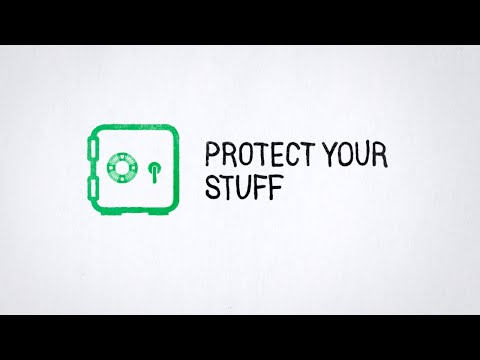 Tip 2: Protect Your Stuff - default