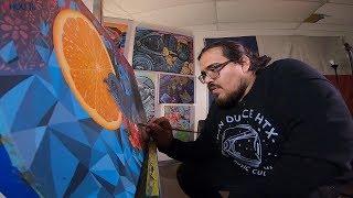 A Houston artist's newfound purpose