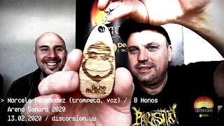 Entrevista a 8 Monos en semifinales de Arena Sonora 2020 (13.02.2020)