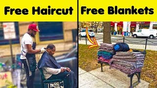 Amazing Examples Of People Caring For Homeless People