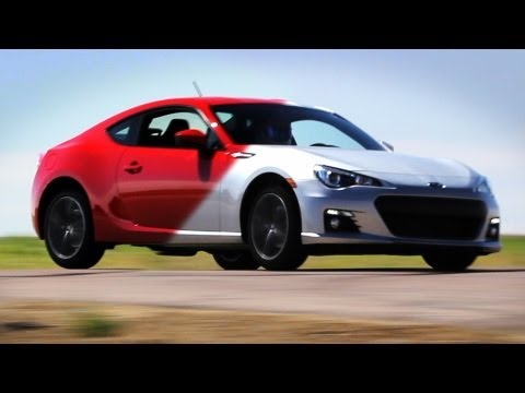 Scion FRS (GT86) vs. Subaru BRZ on Track - Everyday Driver - UCv-FM9e2vGXIEExo7L-ogOQ