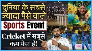 Top 10 Highest Paying Sports   Prize Money   ICC Cricket World Cup   Praveen DIlliwala