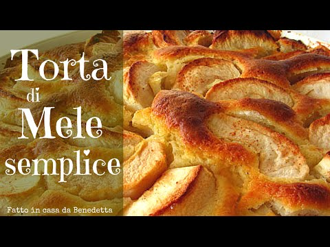 TORTA DI MELE SEMPLICE FATTA IN CASA DA BENEDETTA - Easy Homemade Apple Cake recipe - UCM5gbHADdY-fFB6lsH443wQ