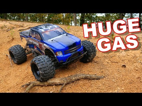 HUGE Gas RC Monster Truck 1/5 Scale Giant - Redcat Racing Rampage XT - TheRcSaylors - UCYWhRC3xtD_acDIZdr53huA