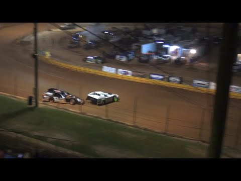 Great race for the lead open wheel modified at Lavonia Speedway July 23rd 2021 - dirt track racing video image