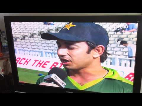 Saeed Ajmal's Hilarious Interview