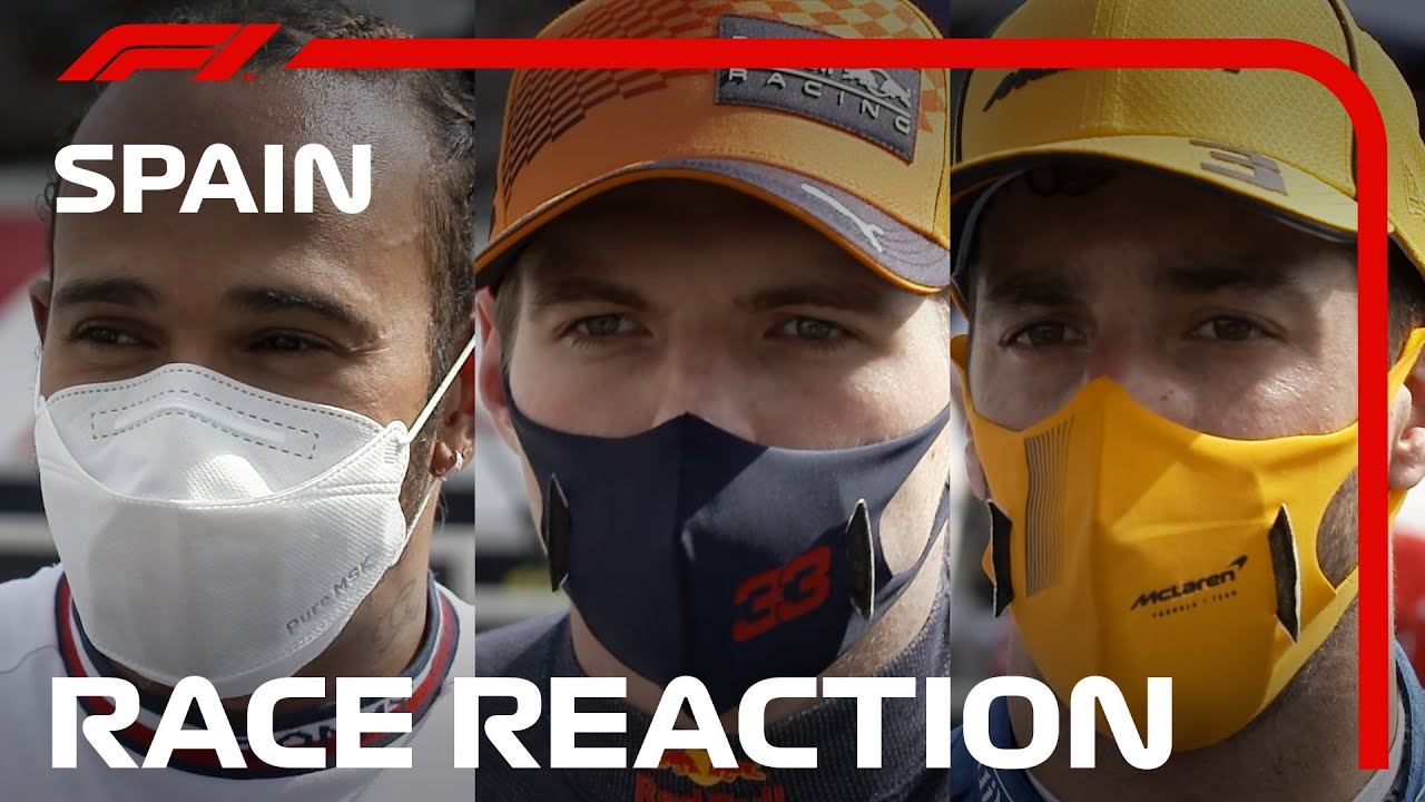 Drivers' Post-Race Reaction | 2021 Spanish Grand Prix